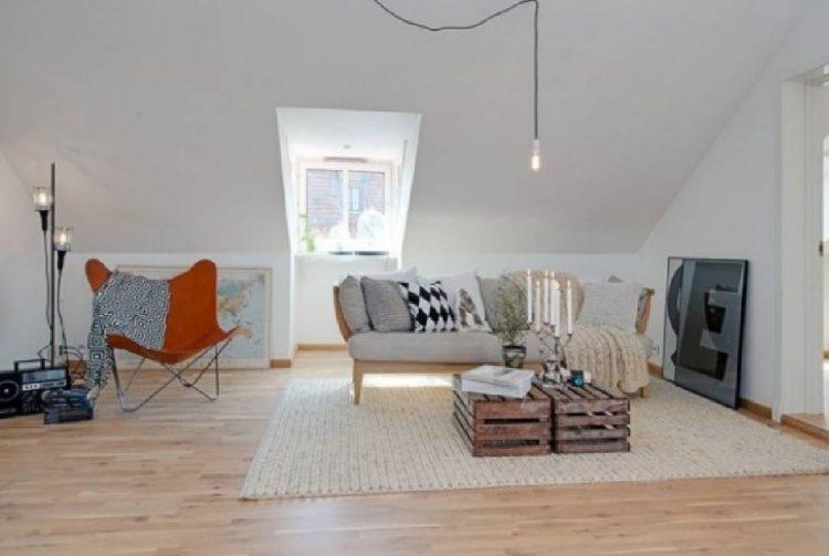 Déco scandinave appartement